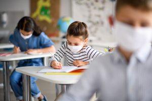 Le mascherine sono dannose per i bambini coronavirus covid