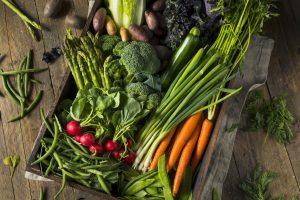 c'è un'alimentazione che protegge da Covid-19 verdure