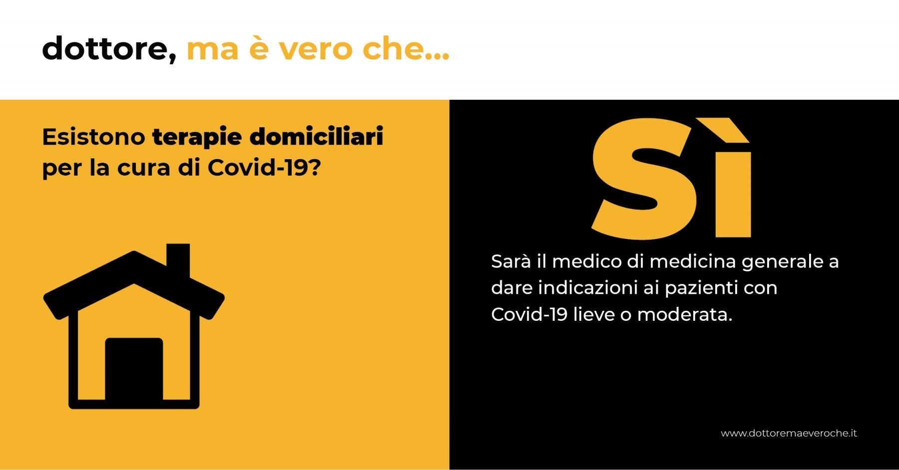 Card: Esistono terapie domiciliari per la cura di Covid-19?