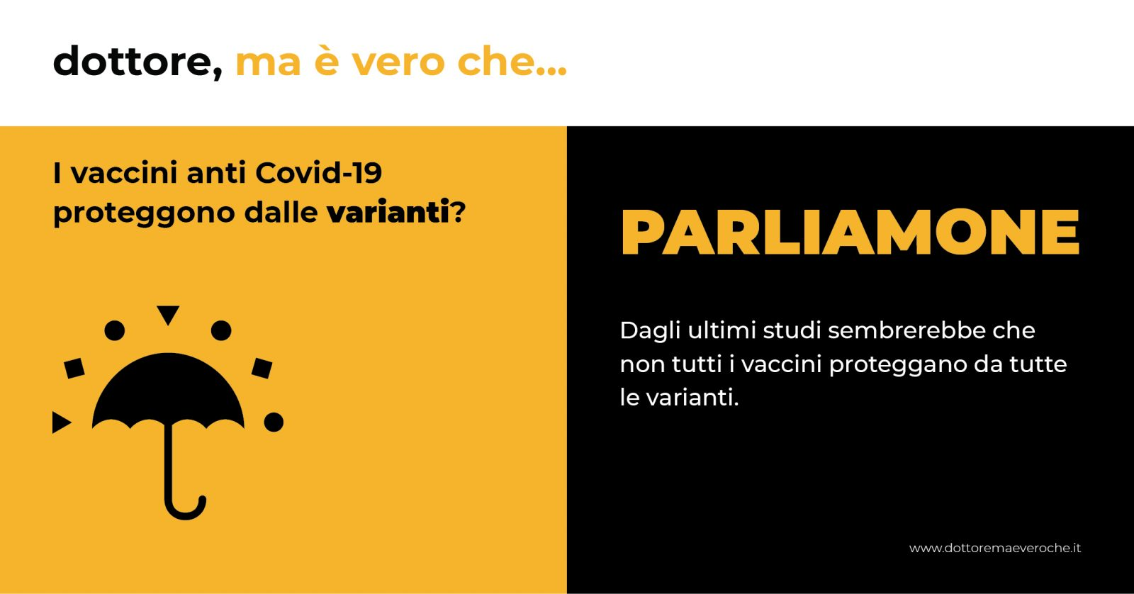 Card: I vaccini anti Covid-19 proteggono dalle varianti